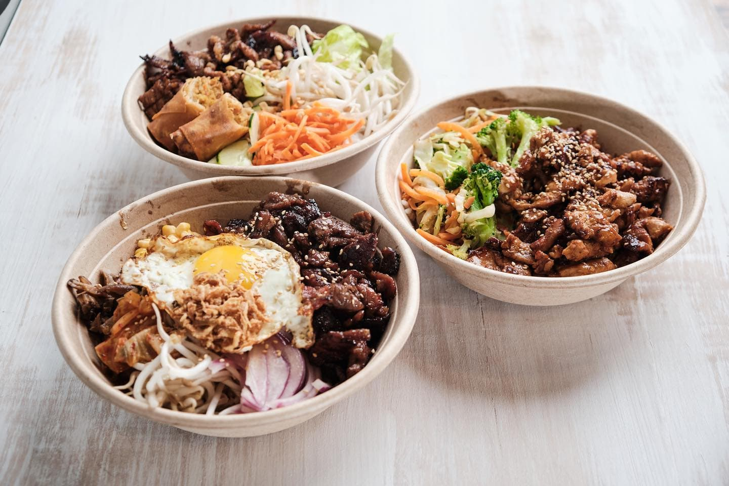 three special southeast asian meals
